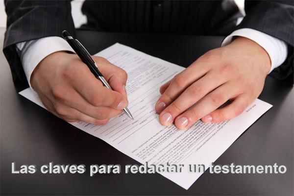 redactar testamento